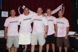Breastie Boys Fundraiser 2012
