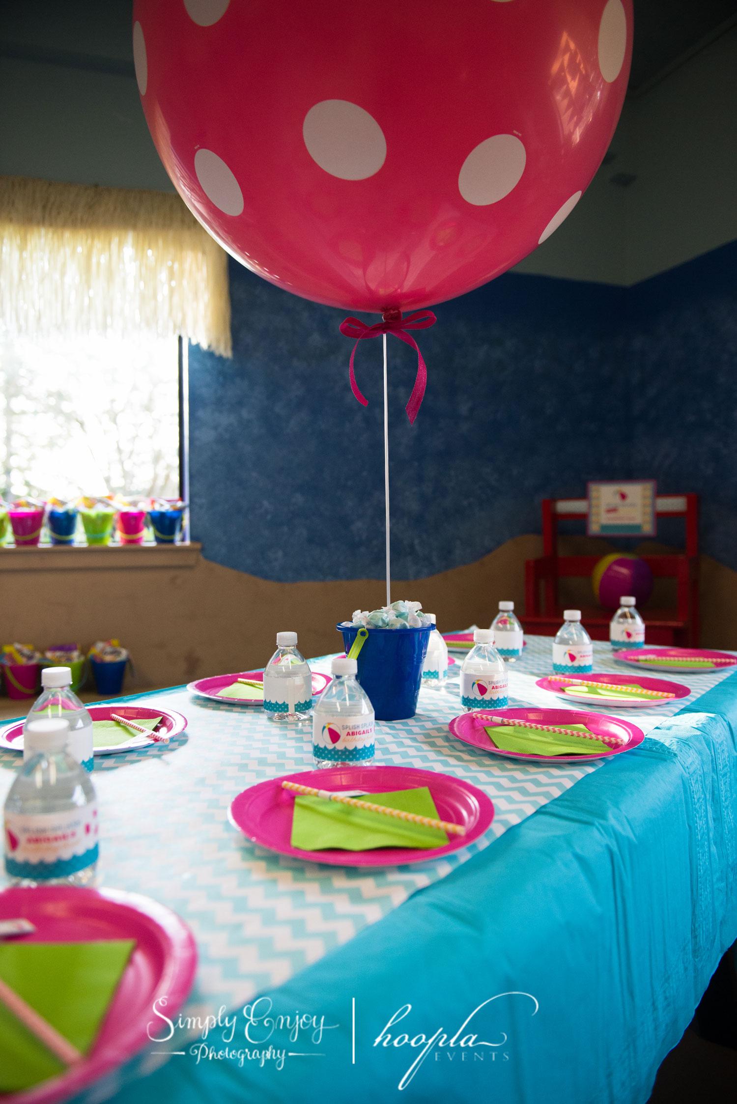splish splash birthday party