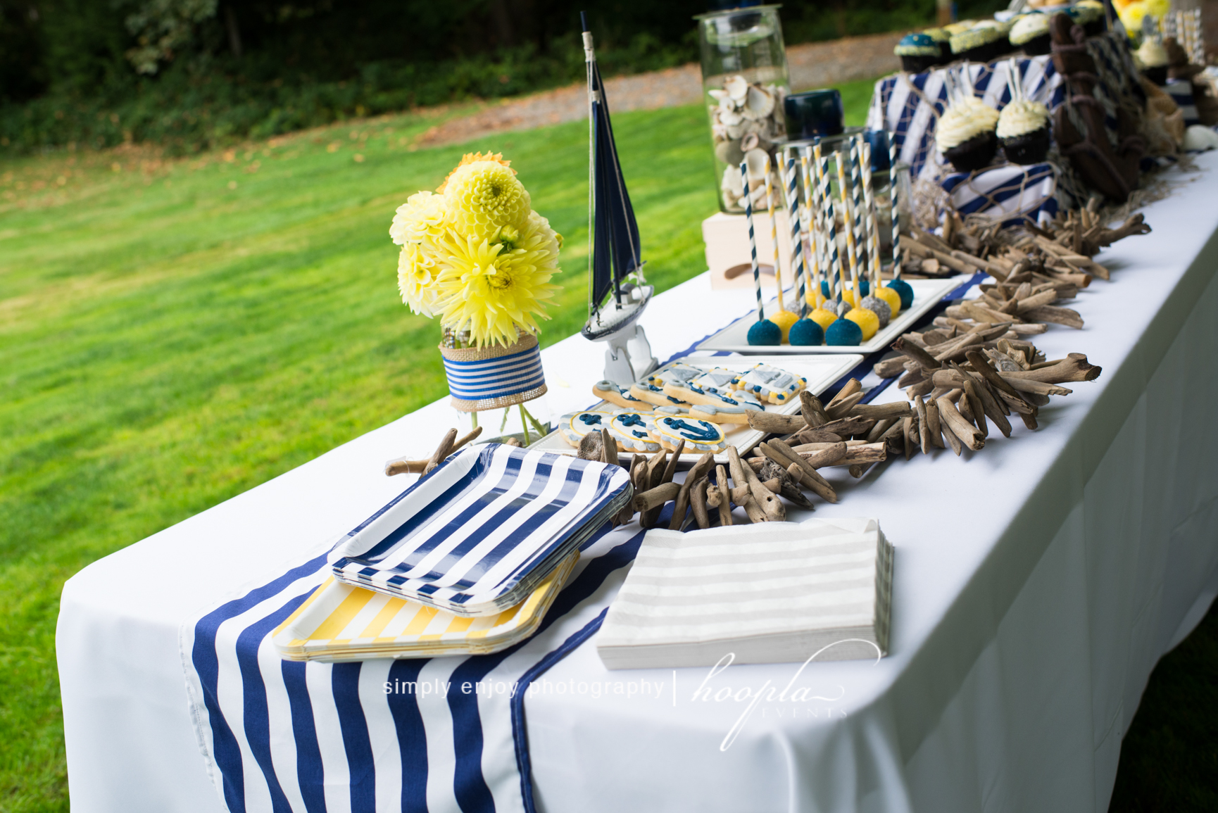Nautical Theme Baby Shower Hoopla Events Krista O Byrne