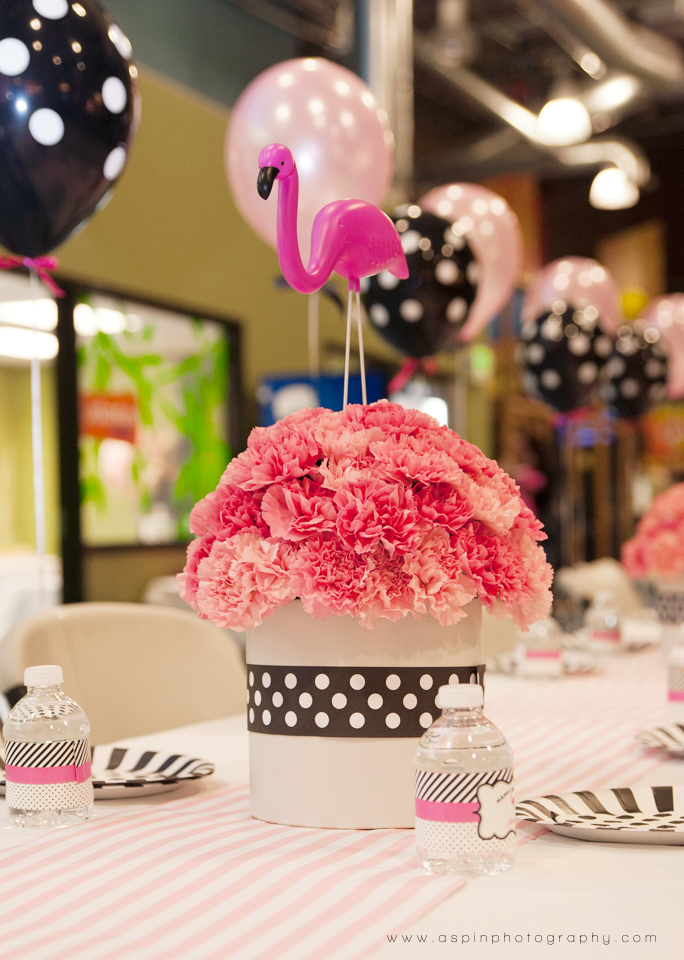 A Flamingo Birthday Party Hoopla Events Krista OByrne