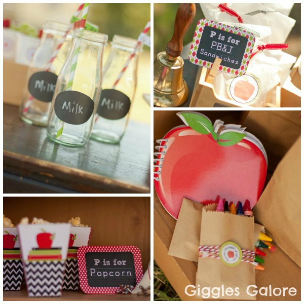 Bookworm Back to School Party