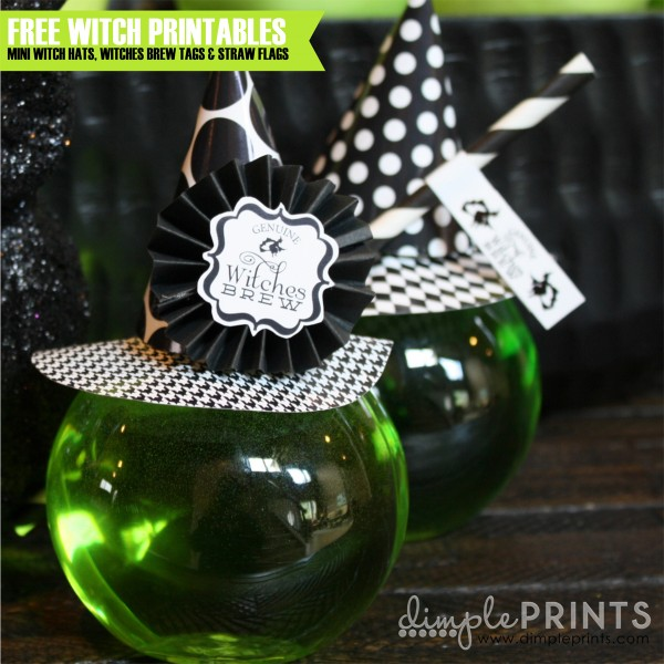 Free Witch Halloween Printables