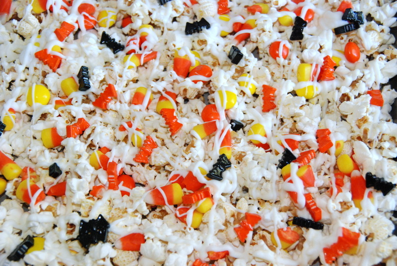 Halloween Popcorn Treat