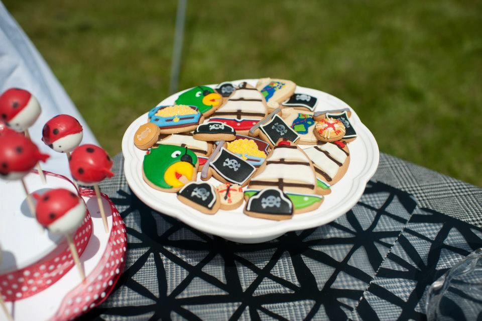 pirate party cookies