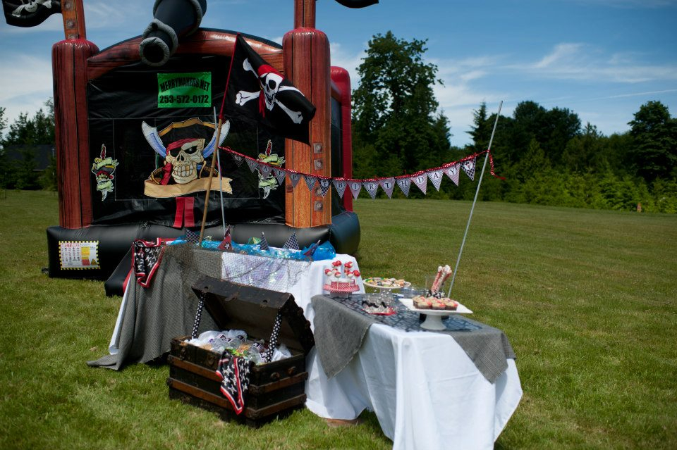 pirate party setup