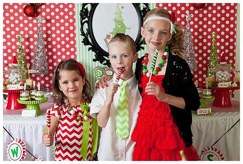 Grinch Inspired Christmas Party (11)