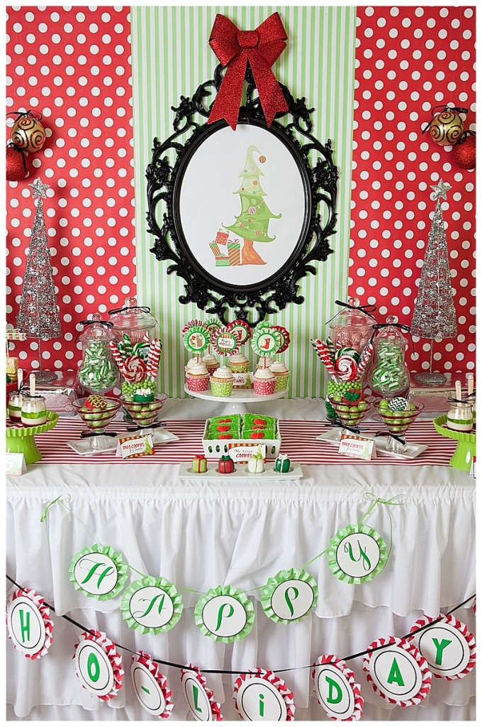 Grinch Inspired Christmas Party (18)