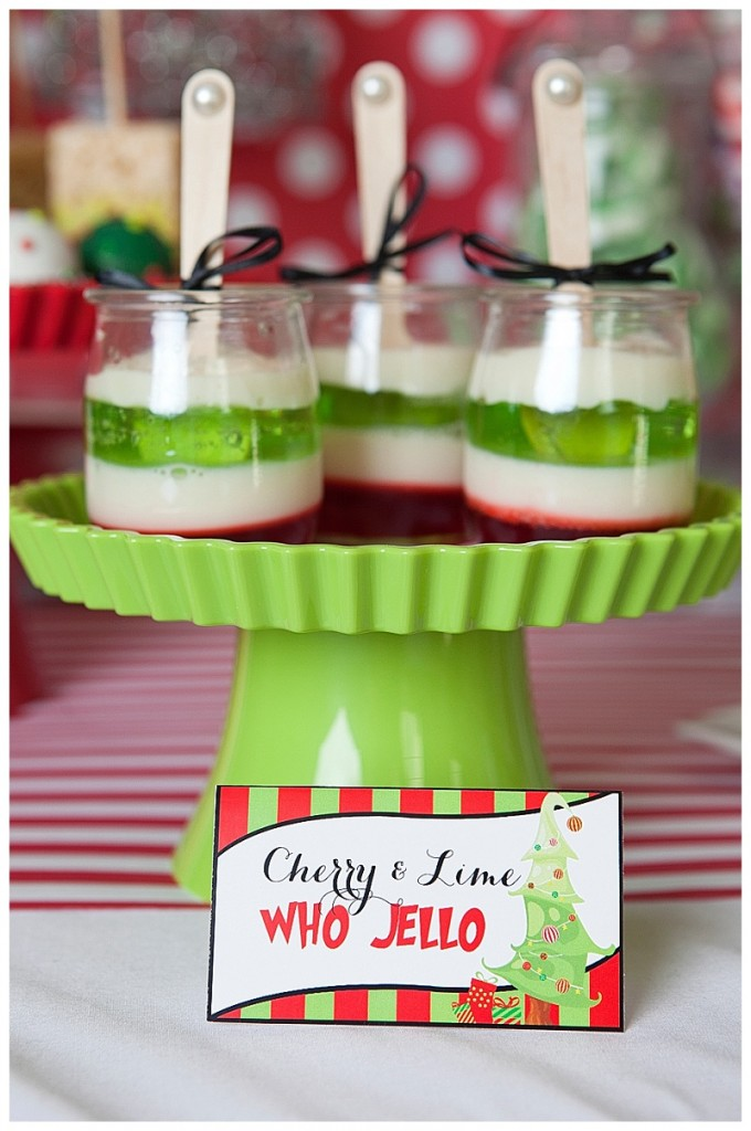 Grinch Inspired Christmas Party (28)