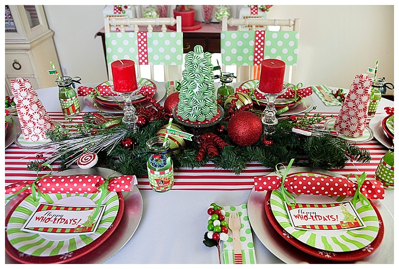 Grinch Inspired Christmas Party (57)