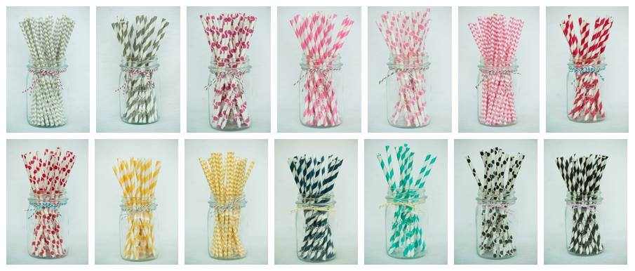 Hoopla_Events_Straw_Collage