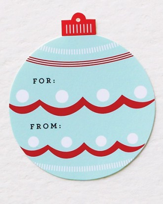 Ornament clip art tags