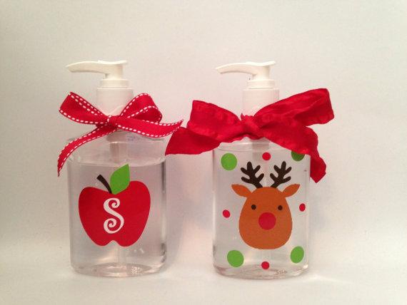 reindeer apple hand sanitizer
