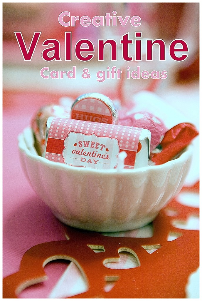 Creative Valentine card and gift ideas