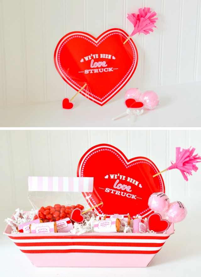 Love Struck by Cupid Valentine idea