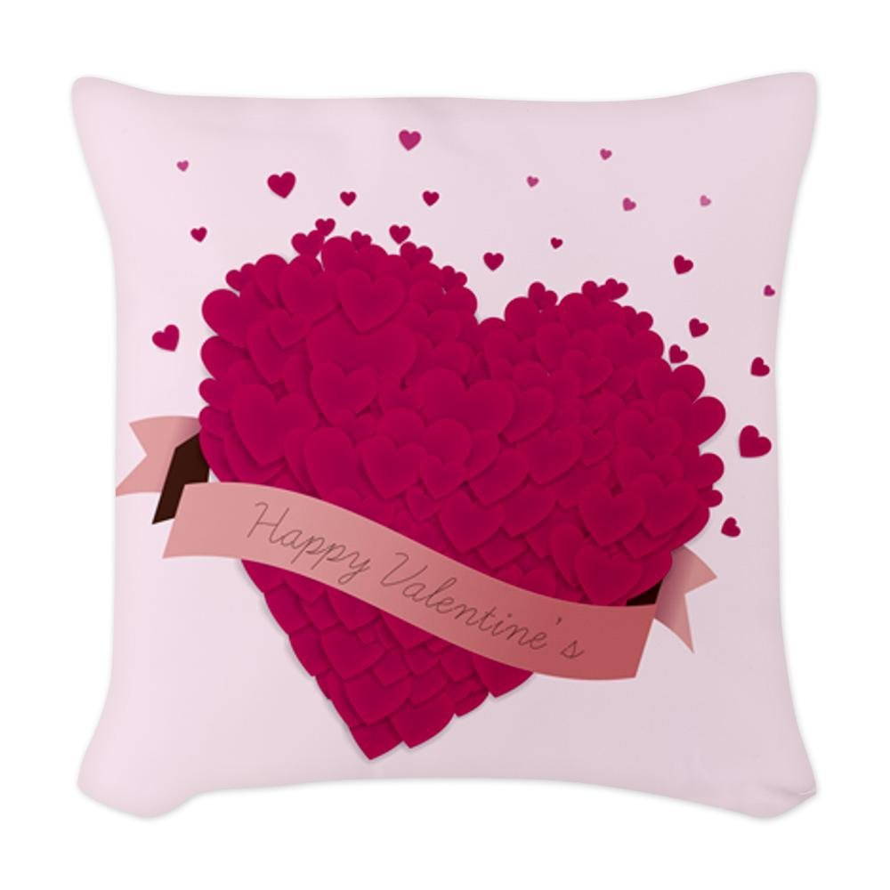 heart throw pillow Valentine's Day
