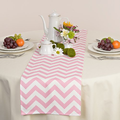 light pink chevron runner