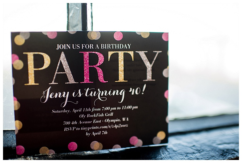 A Glamorous 40th Birthday Party Hoopla Events Krista OByrne