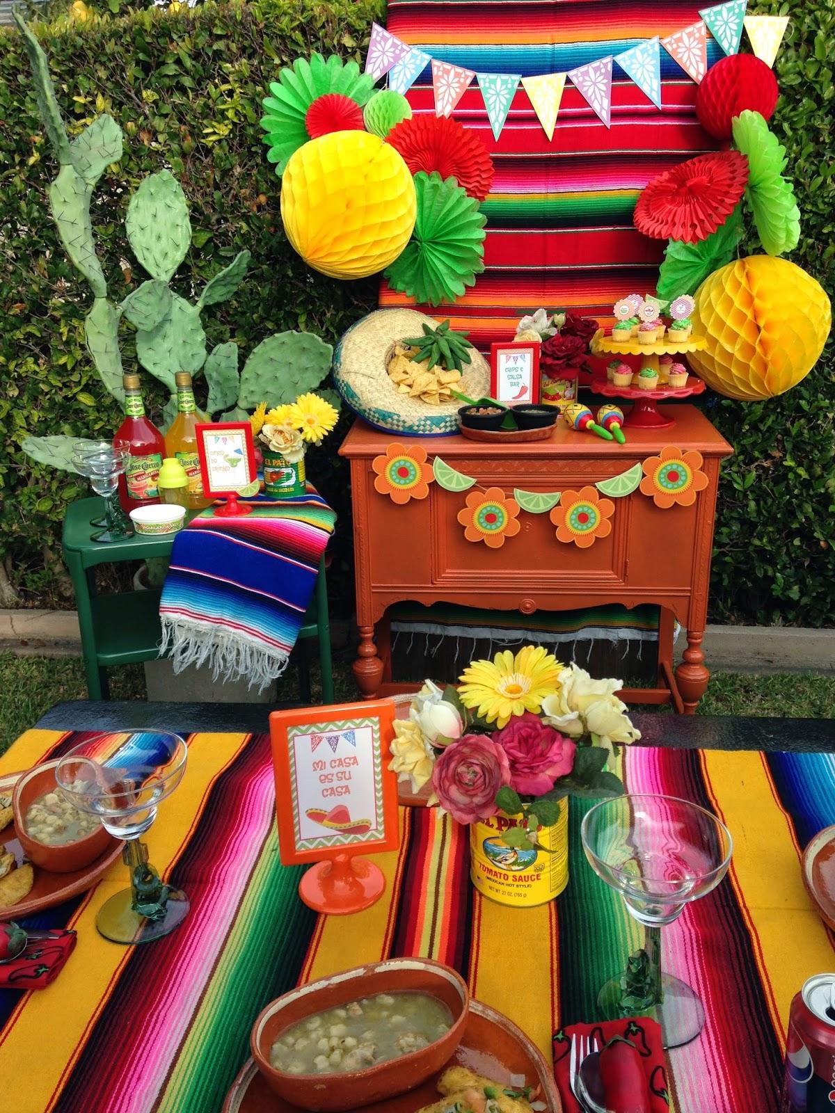 Cinco de mayo party ideas hoopla events krista o 39 byrne - Ideas para fiestas ...