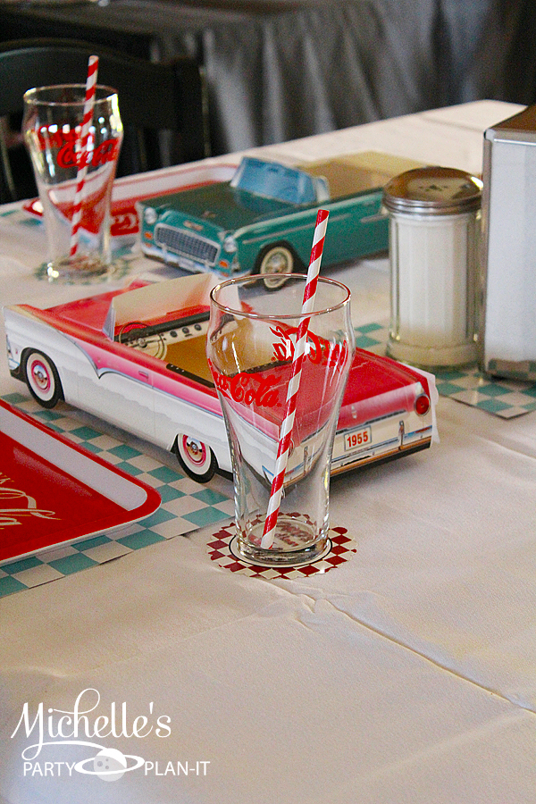A Fabulous 50s Diner Inspired Father S Day Party Hoopla