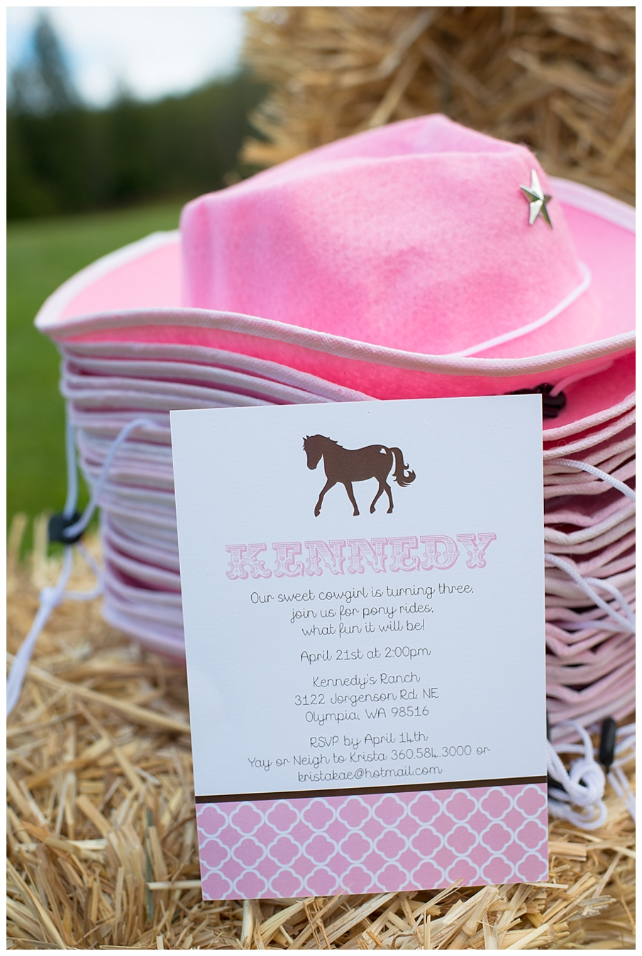 A Pink And Brown Pony Party Hoopla Events Krista O Byrne