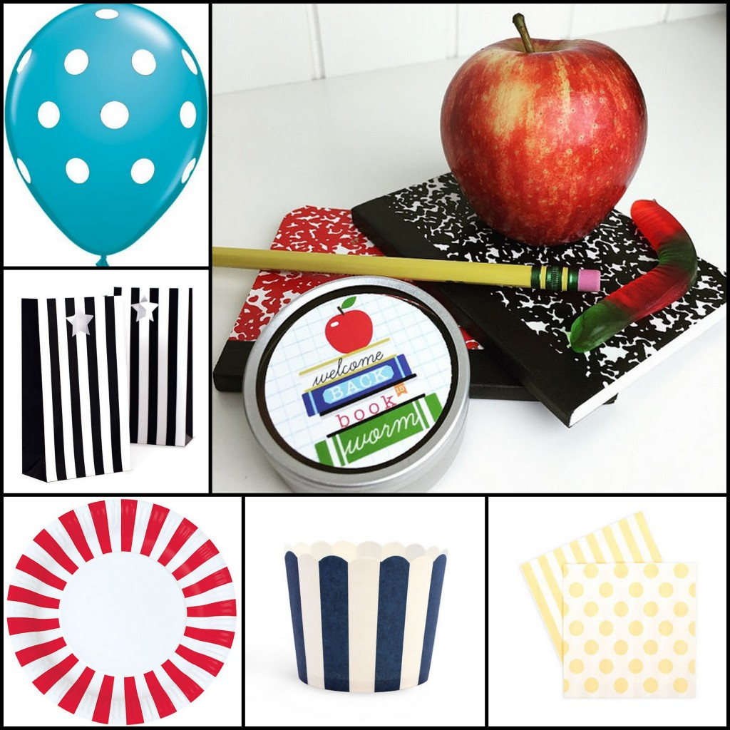 back to school party supplies