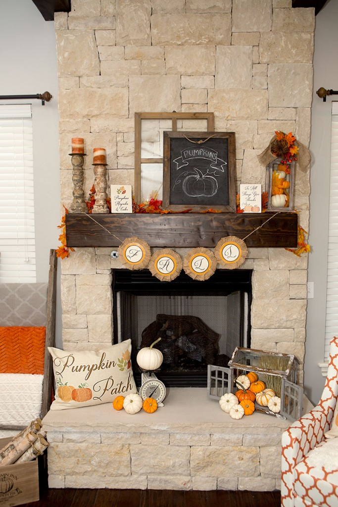 1-Fall-Mantel-decorations