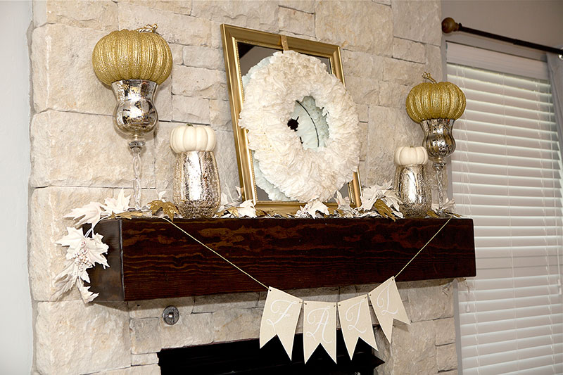 2-gold-and-cream-fall-mantel