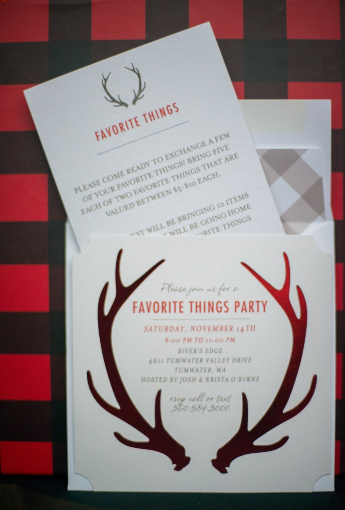 favorite things holiday party