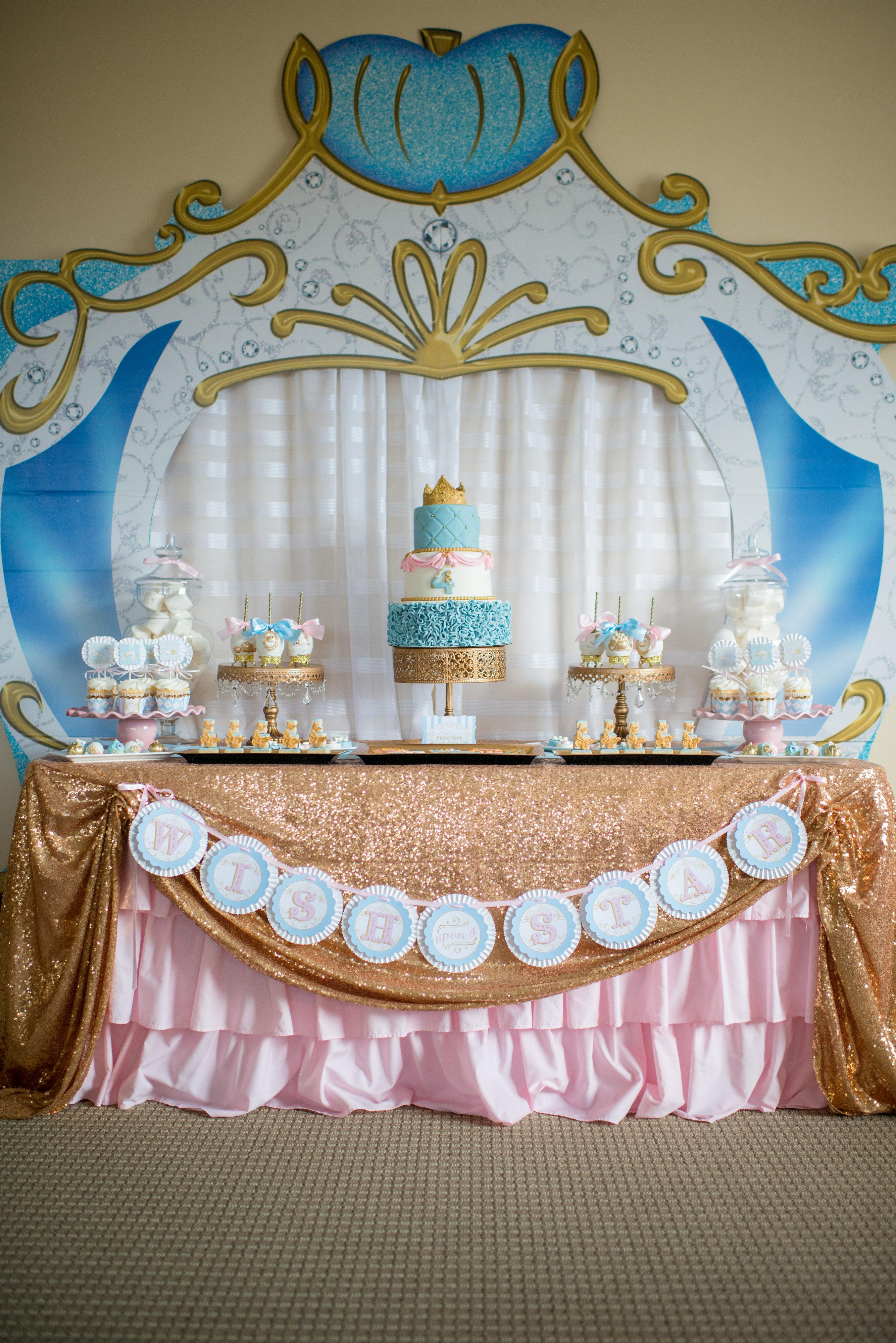 A Dream Come True Cinderella Birthday Party Hoopla