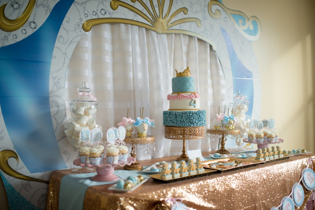 Cinderella birthday party