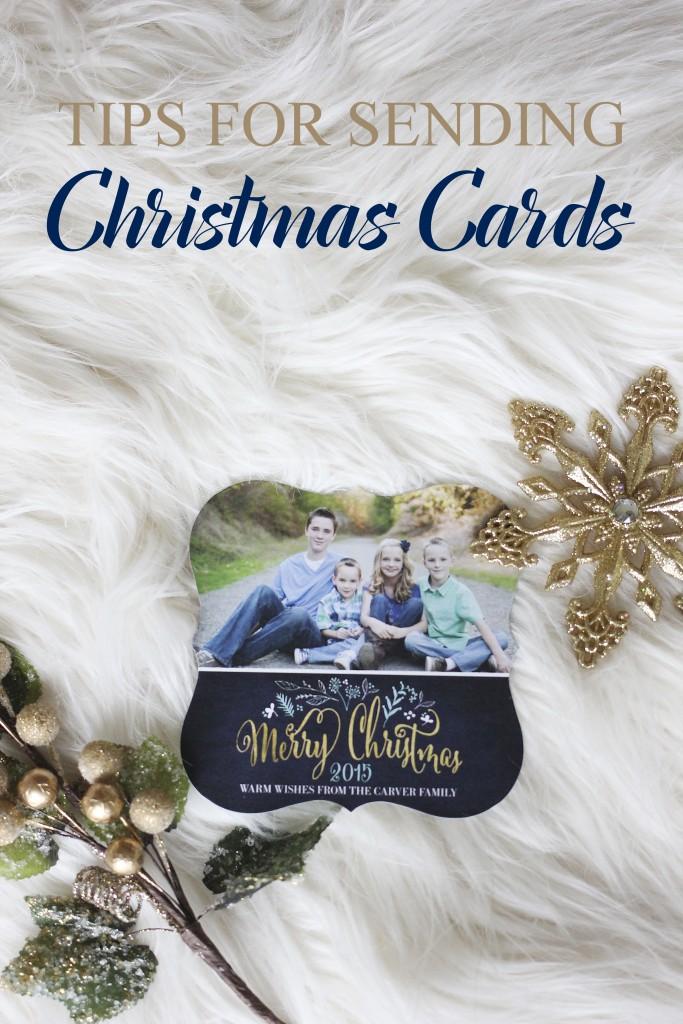 Tips for Sending Christmas Cards