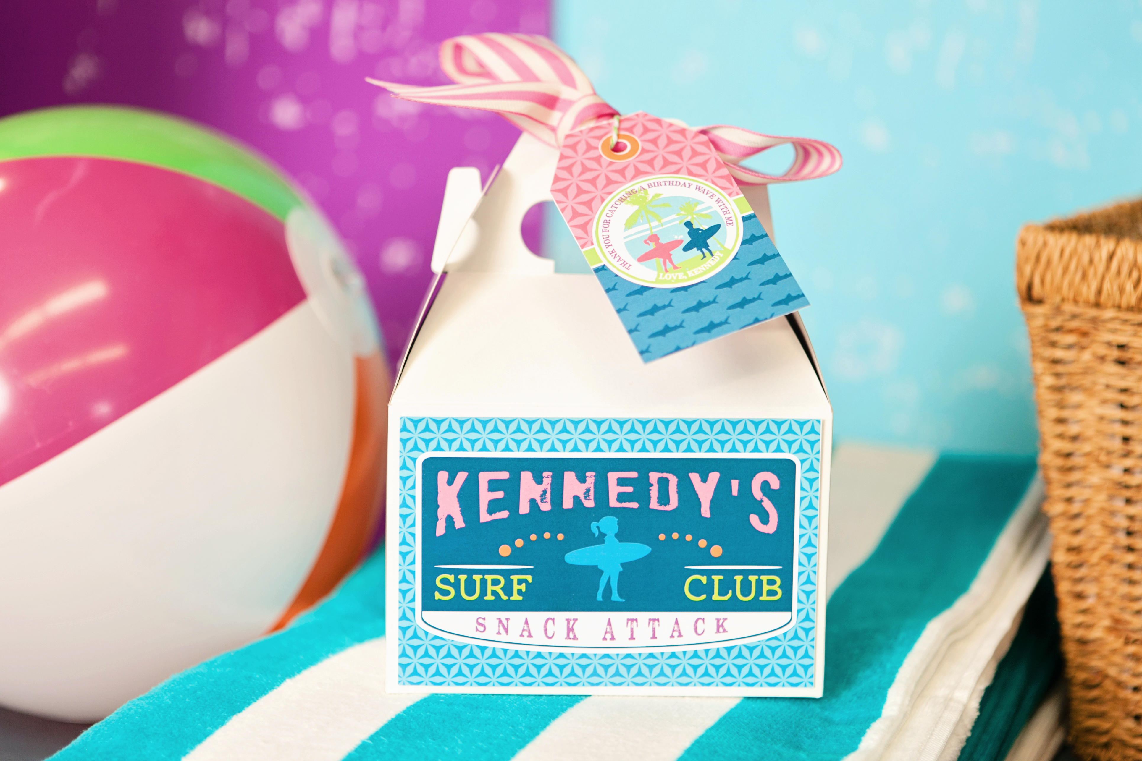 surfing birthday party