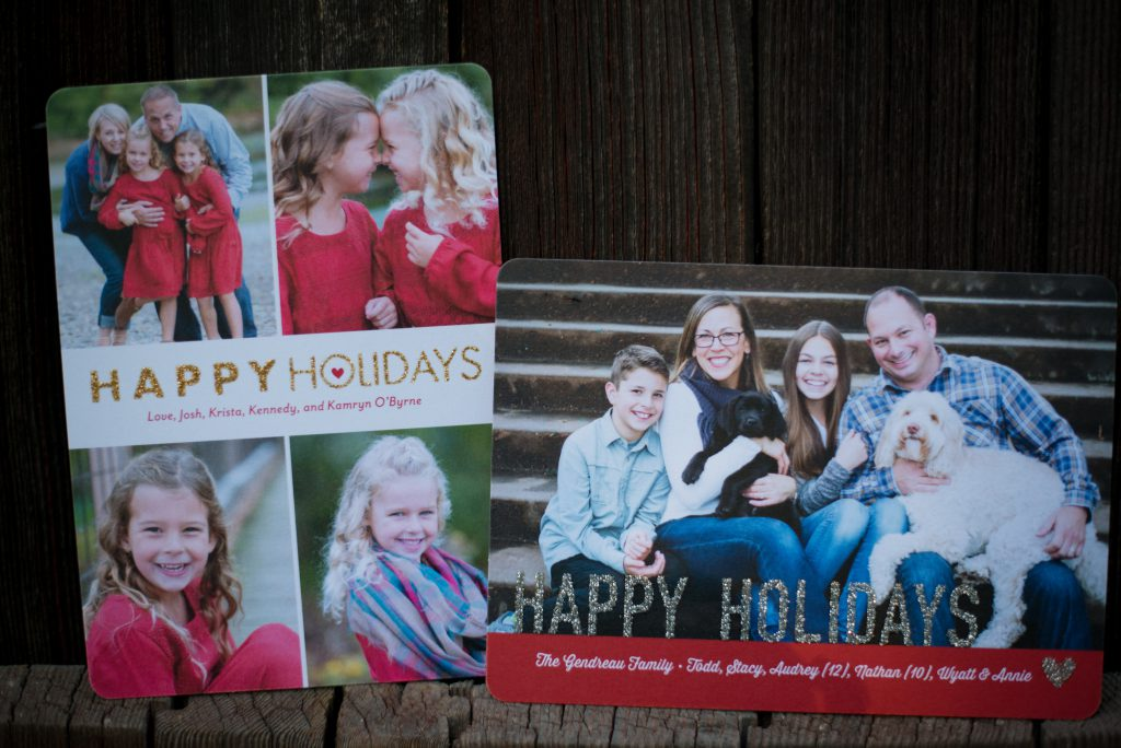 5 Tips for Sending Christmas Cards | Hoopla Events | Krista O\'Byrne