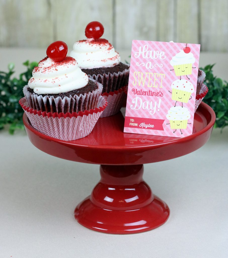 Cupcake Valentine's Day Cards 10