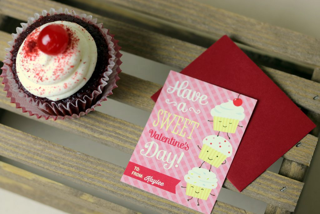 Cupcake Valentine's Day Cards 5