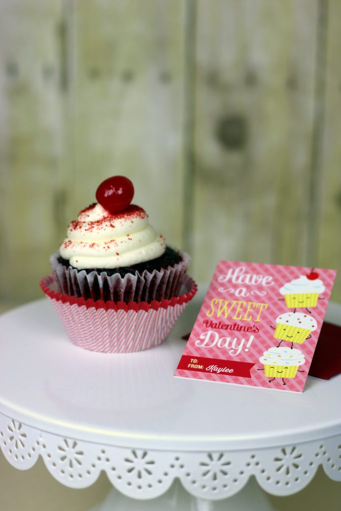 Cupcake Valentine's Day Cards 7
