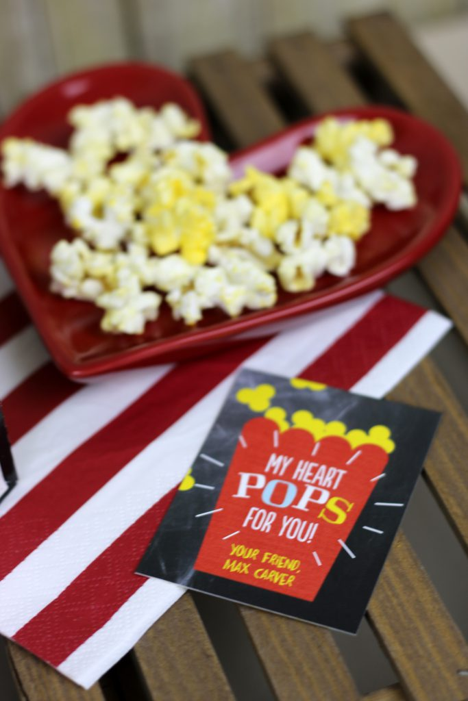 Valentine's Day Cards Popcorn 2