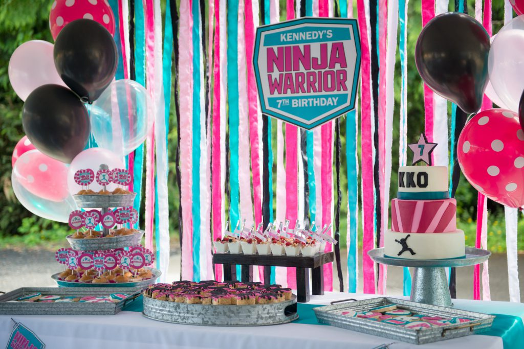 American Ninja Warrior Birthday Party